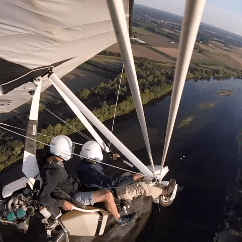 Baptême en ULM - Bords de Loire AIR GRAVITE ULM en Région Centre Val de Loire